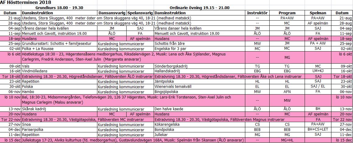 54dd29ba1143 Mats Lundblads kalender folkmusik/dans gada.se