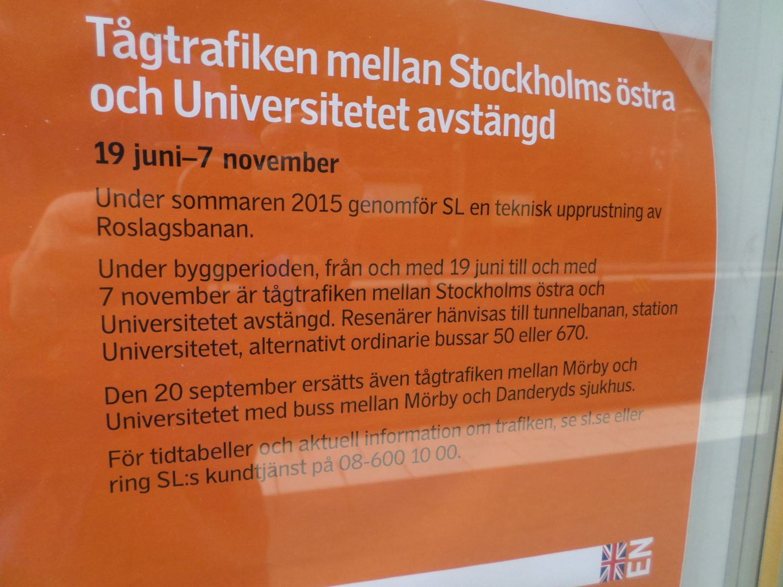 tunnelbana stockholm röda linjen tidtabell