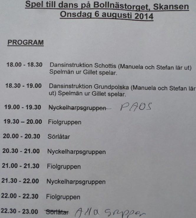 Mats Lundblads Gammaldans Gadase