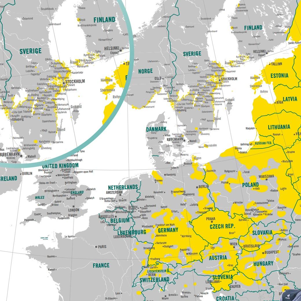 tbe karta europa Mats Lundblads kalender folkmusik/dans gada.se tbe karta europa